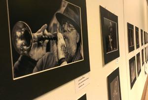 Ingemar Johansson presenterar fotografier från Perspectives festivalen