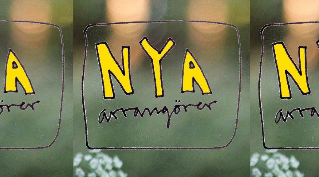 Nya Arrangörer logotyp